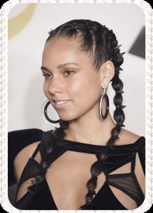 Le no makeup exige une vraie confiance en soi et cette photo d'Alicia Keys en est la preuve.